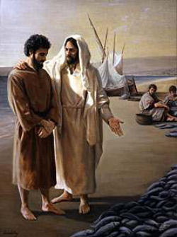 simon peter and jesus relationship to god