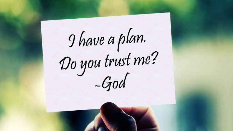 Whose Plan is Better: GOD'S Plan or YOURS? —